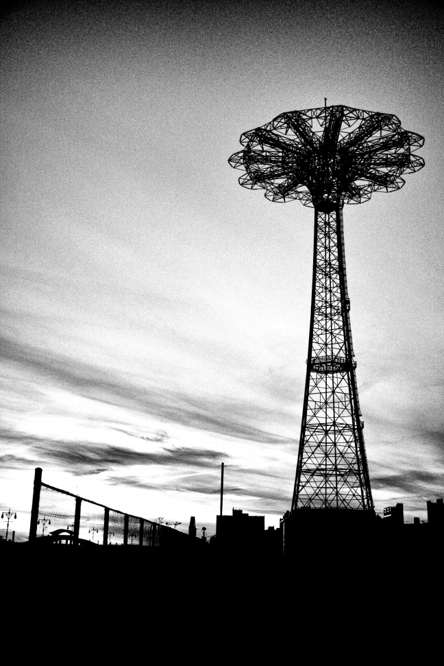 Alone in Coney Island (Novembre 2008)