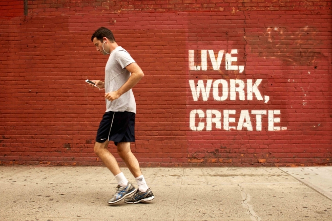Live, Work, Create (Aout 2014)