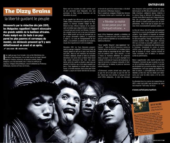Dizzy Brains - Longueur d'Ondes (2016)